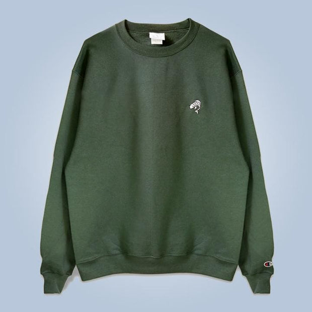 Champion x Chronic Ink Classic Logo Crew - Dark green