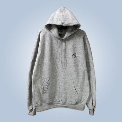 Champion x Chronic Ink Classic Logo Pullover Hood - Light grey