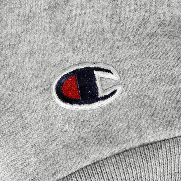 Champion x Chronic Ink Classic Logo Zip Hood - Light grey