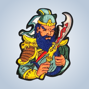 Iron-on patches Chronic Ink Artist Series - Guan Yu