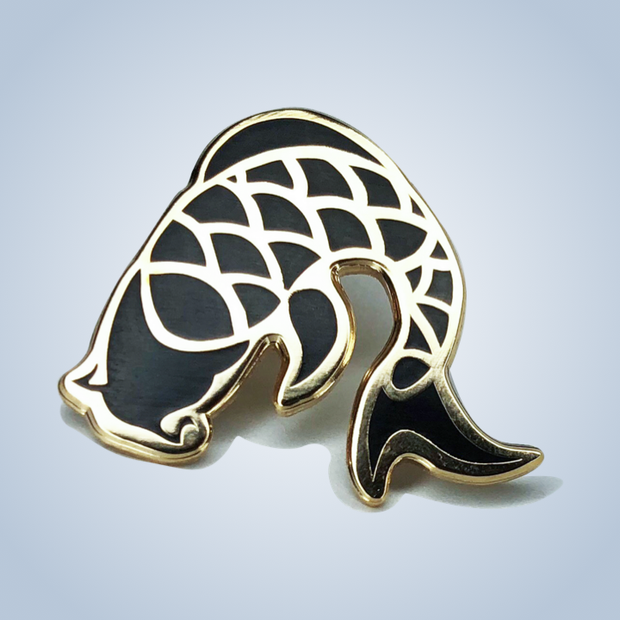 Chronic Ink Enamel Pin - Koi
