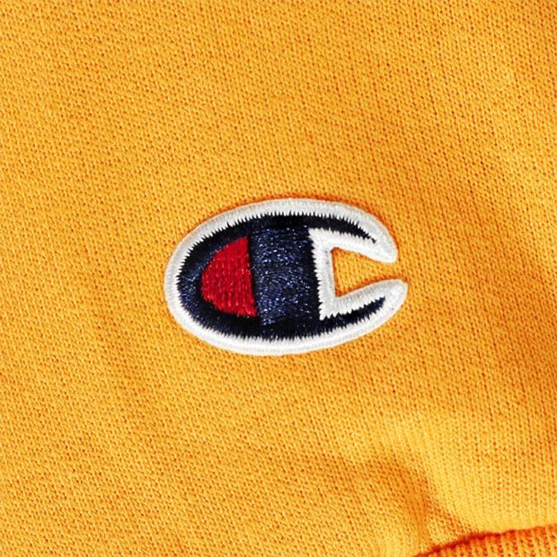 Champion x Chronic Ink Classic Logo Pullover Hood - Yellow