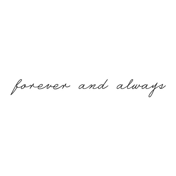 "Valentines Day Script - ""Forever and Always"""