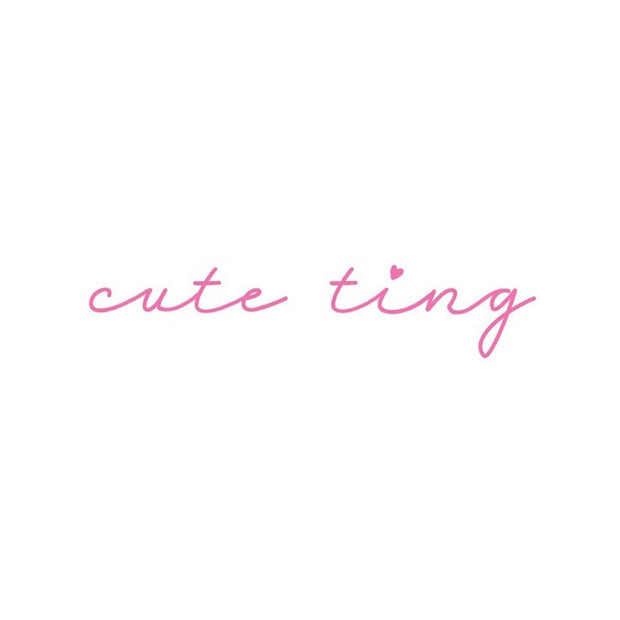 "Valentines Day Script - ""Cute Ting"""