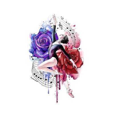 Musical Ballerina with Roses