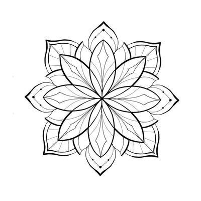 Tattoo designs - Mandala