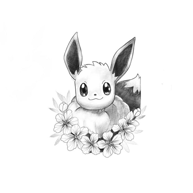 Eevee with Floral