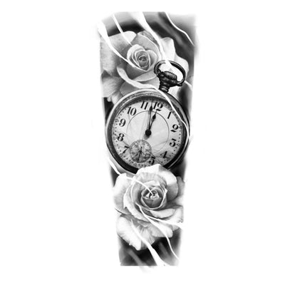 Roses with Pocket Watch