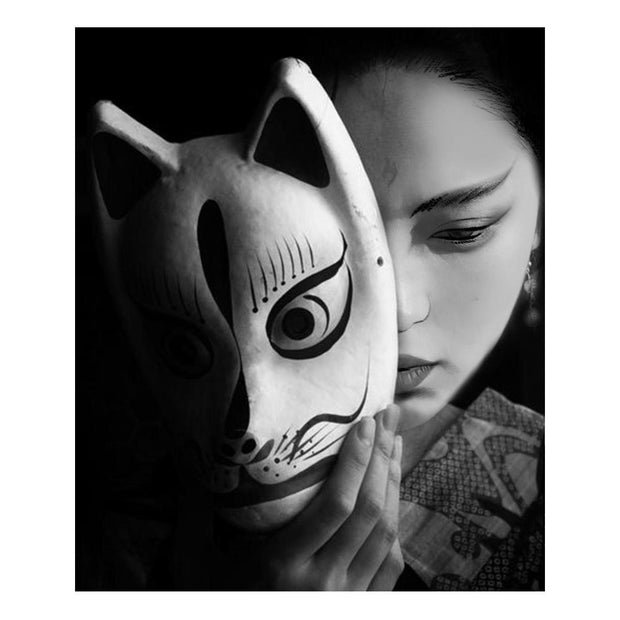Female With Kitsune Mask