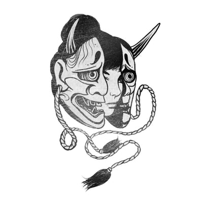 Female with Hannya Mask