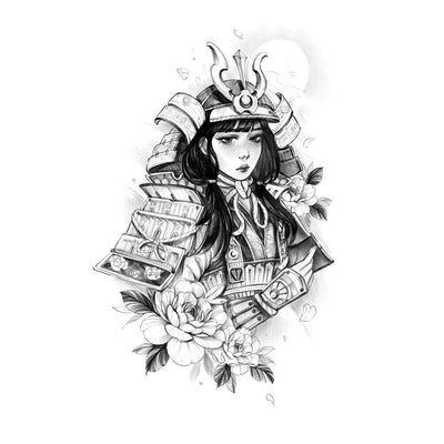 Tattoo designs - Samurai