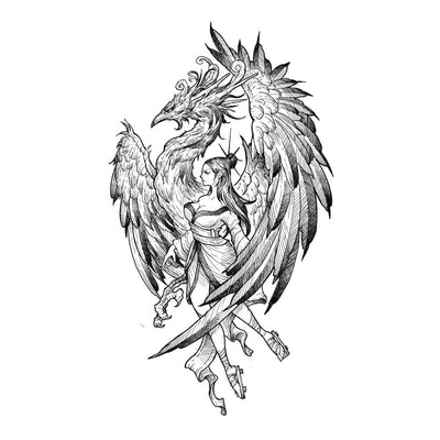 Tattoo designs - Phoenix