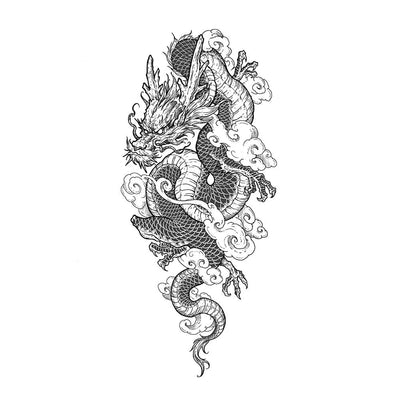 Tattoo designs - Dragon