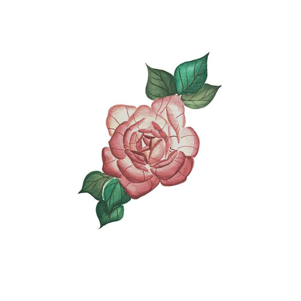 Painterly Rose