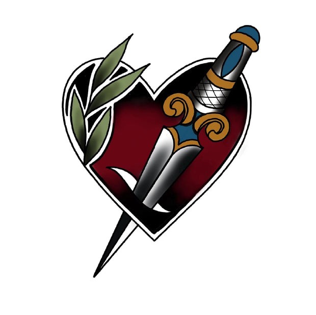 Heart with Dagger