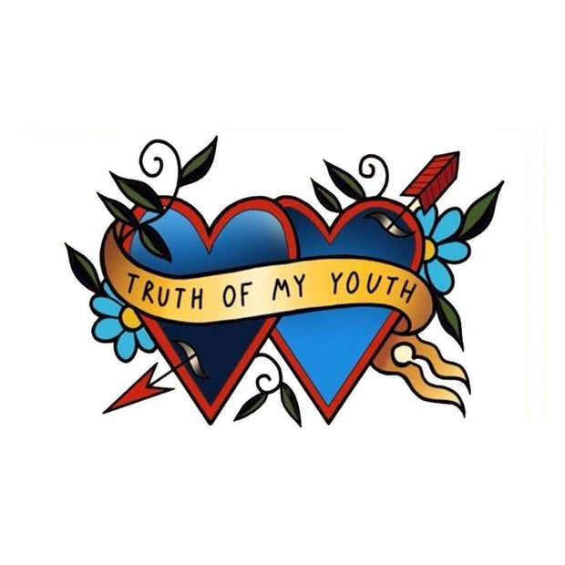 """Truth Of My Youth"" Hearts with Flowers"