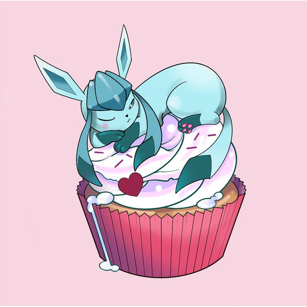 Glaceon Cupcake