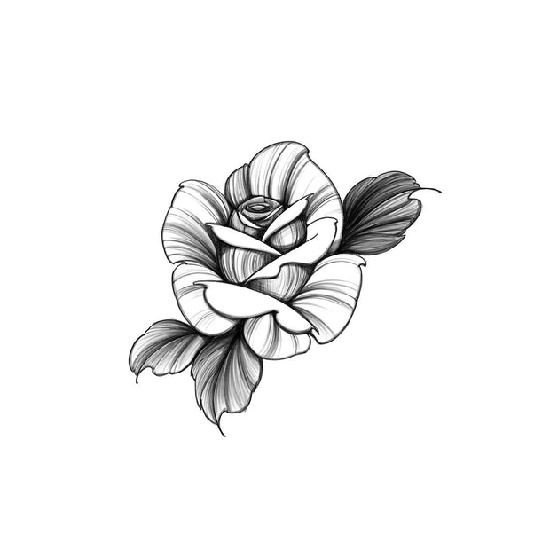 Blackwork Rose