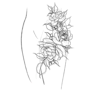 Rose (Thigh Piece)
