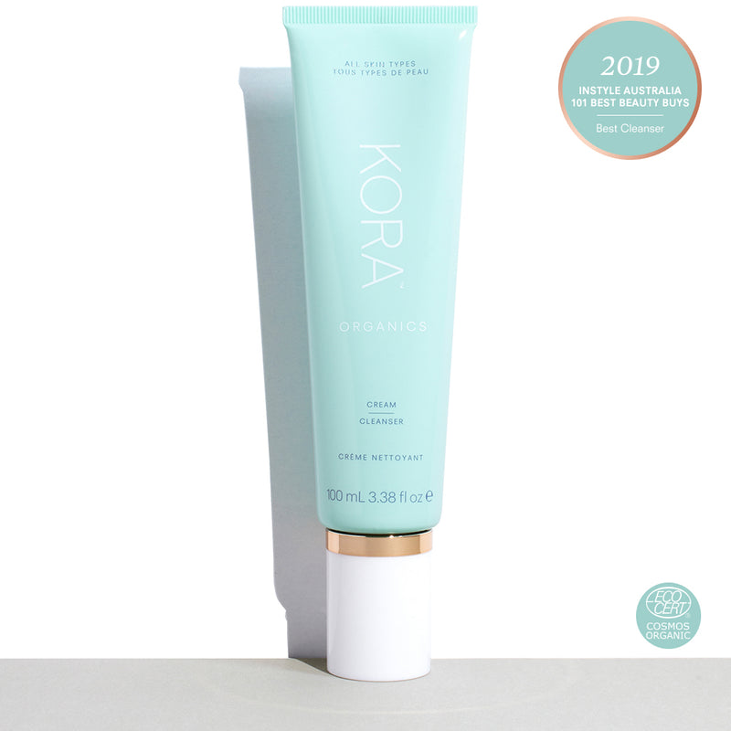 Cream Cleanser 100mL, Award Winning Certified Organic Cream Face Cleanser, Cruelty Free, Vegan, Toxin Free. Facial Cleanser. KORA Organics by Miranda Kerr
