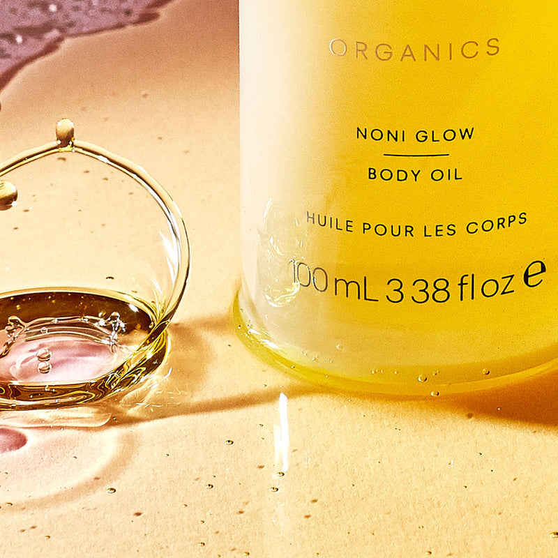 A lightweight and easily absorb oil that helps to nourish dry skin, a blend of Rosehip Oil, Noni Fruit, Sunflower Seed Oil.