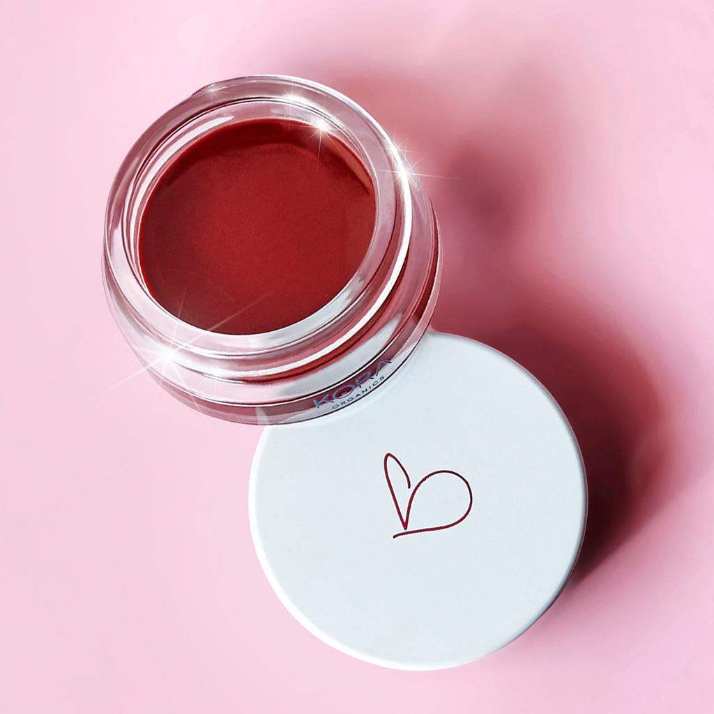 Our organic Noni Lip Tint provides a sheer wash of colour, a tinted lip balm from naturally derived pigments.