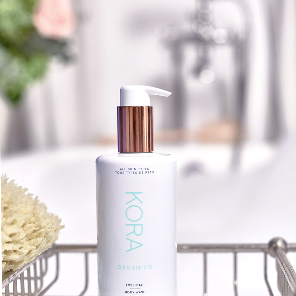 """I like to use this gentle body wash for a daily uplifting experience to cleanse and invigorate my skin."" – Miranda Kerr, Founder & CEO KORA Organics"