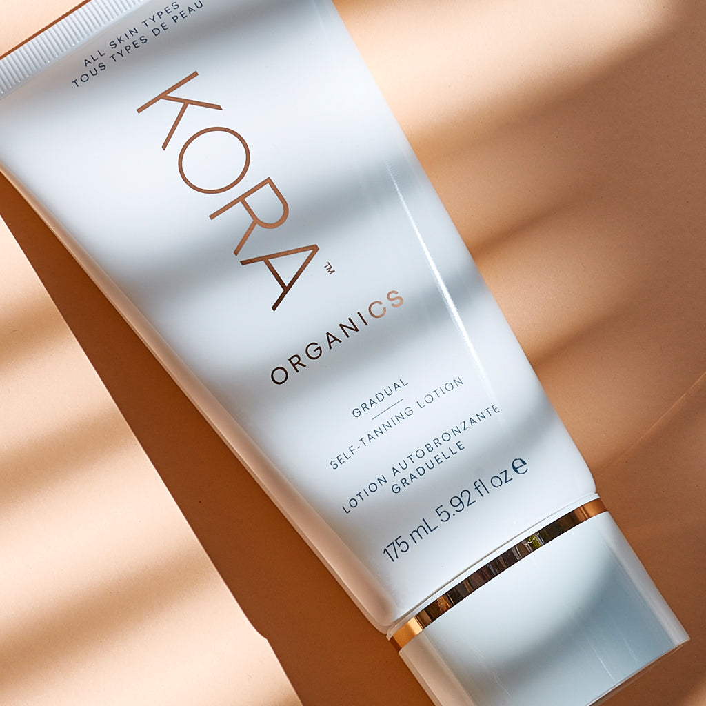 Gradual Self-Tanning Lotion 175mL, Certified Organic, Self-Tanner, Vegan, Cruelty Free, KORA Organics by Miranda Kerr.
