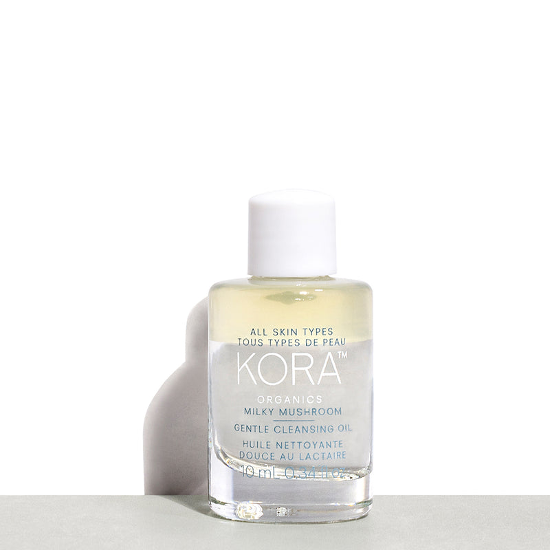 With any purchase of our Noni Glow Face Oil 30mL, our GIFT to you is a Milky Mushroom Gentle Cleansing Oil 10mL.