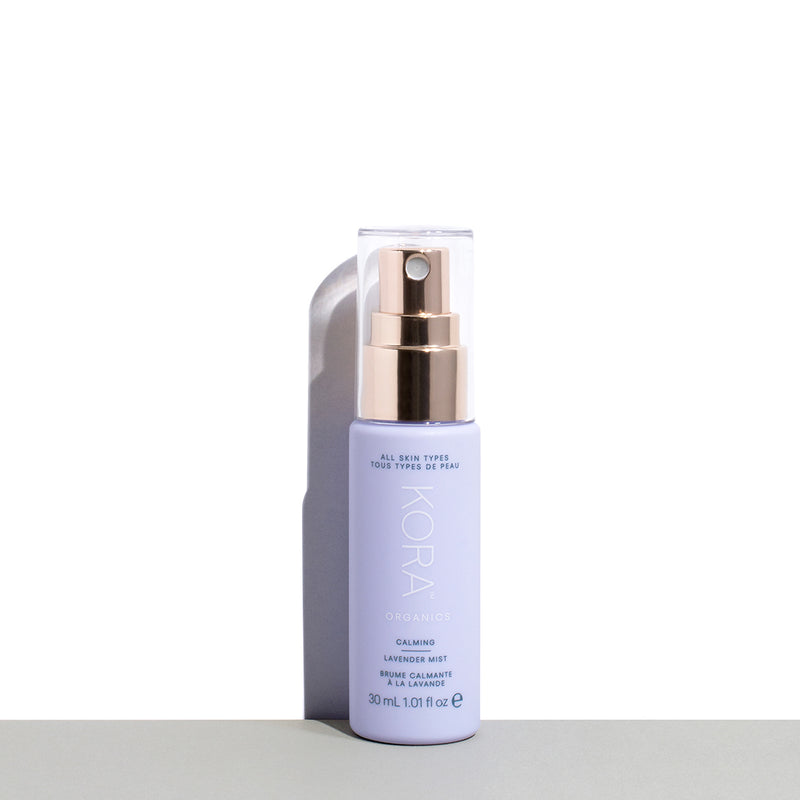 Calming Lavender Mist 30mL. Certified Organic, Vegan and Cruelty Free Facial Mist, perfect size for trial or travel. KORA Organics by Miranda Kerr