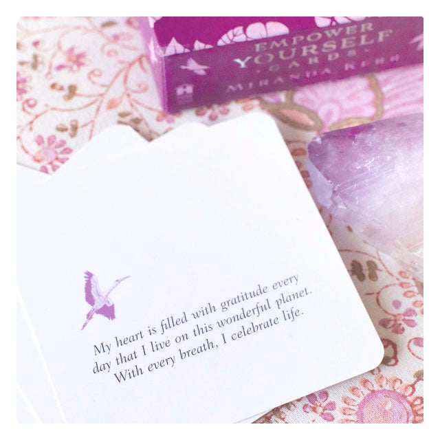 Empower Yourself Affirmation Cards