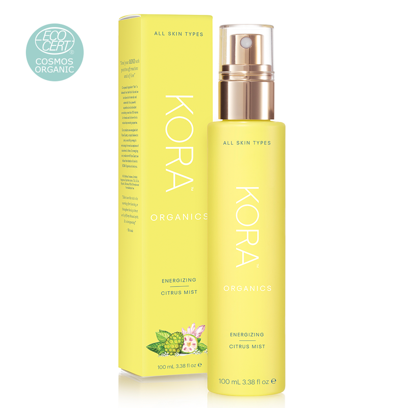 A refreshing facial mist that energises your skin and gives it a healthy glow. This uplifting blend of Noni Extract, Aloe Vera, Lemongrass and Mandarin essential oils awakens the senses and invigorates your skin.