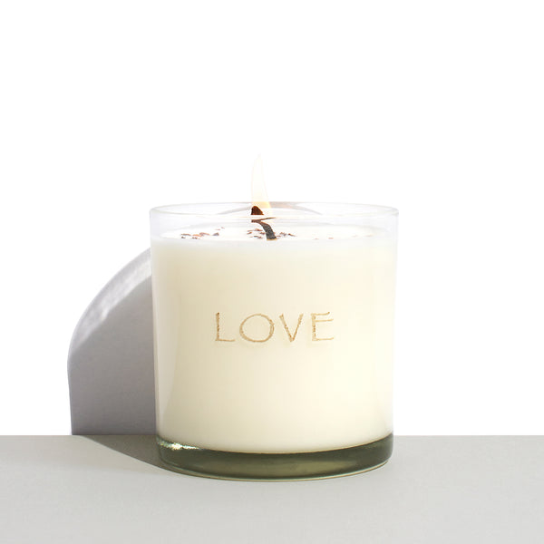 Matter & Home Love CandleMatter and Home x KORA exclusive LOVE Candle