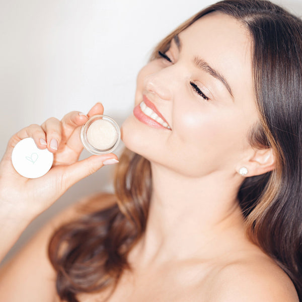 """This rich & creamy lip treatment is super nourishing and healthy. I use it daily to keep my lips looking smooth and plump."" - Miranda Kerr"