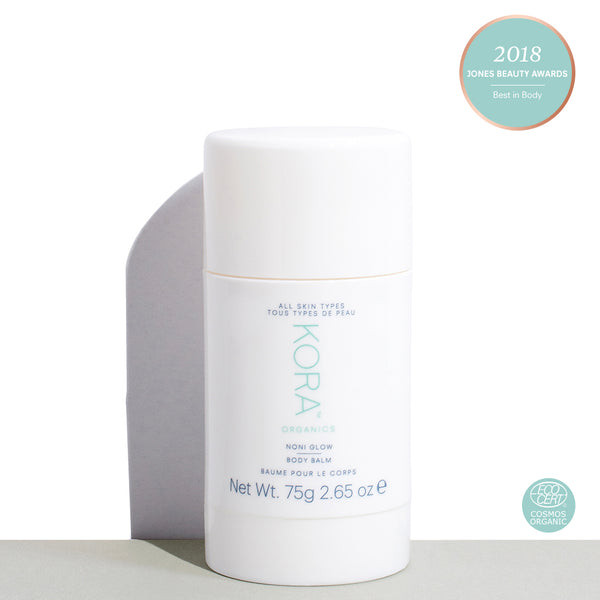 Award-Winning Noni Glow Body Balm 75g. Certified Organic and Cruelty Free Body Moisturiser. KORA Organics by Miranda Kerr