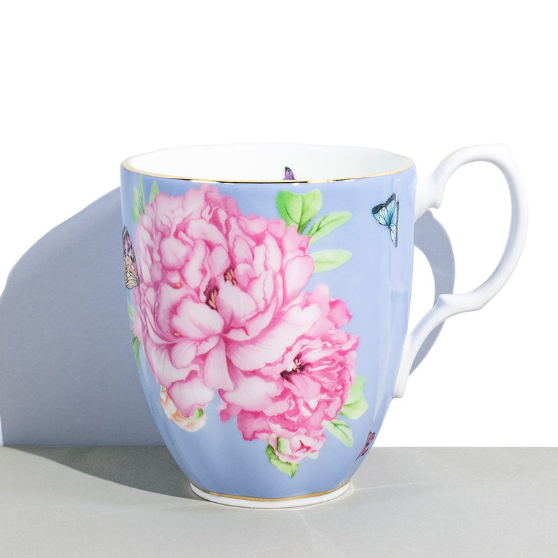 1 Royal Albert x Miranda Kerr Friendship Periwinkle Vintage Mug | 400 mL / 13.5 fl oz