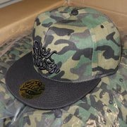 Blox Starz Camo With Black Bill HATS