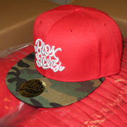 Blox Starz Red & Camo Bill HATS