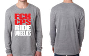 LONGSLEEVE - FCK COPS RIDE WHEELIES