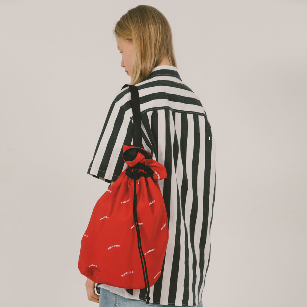 WAVY SWIMMER BAG RED