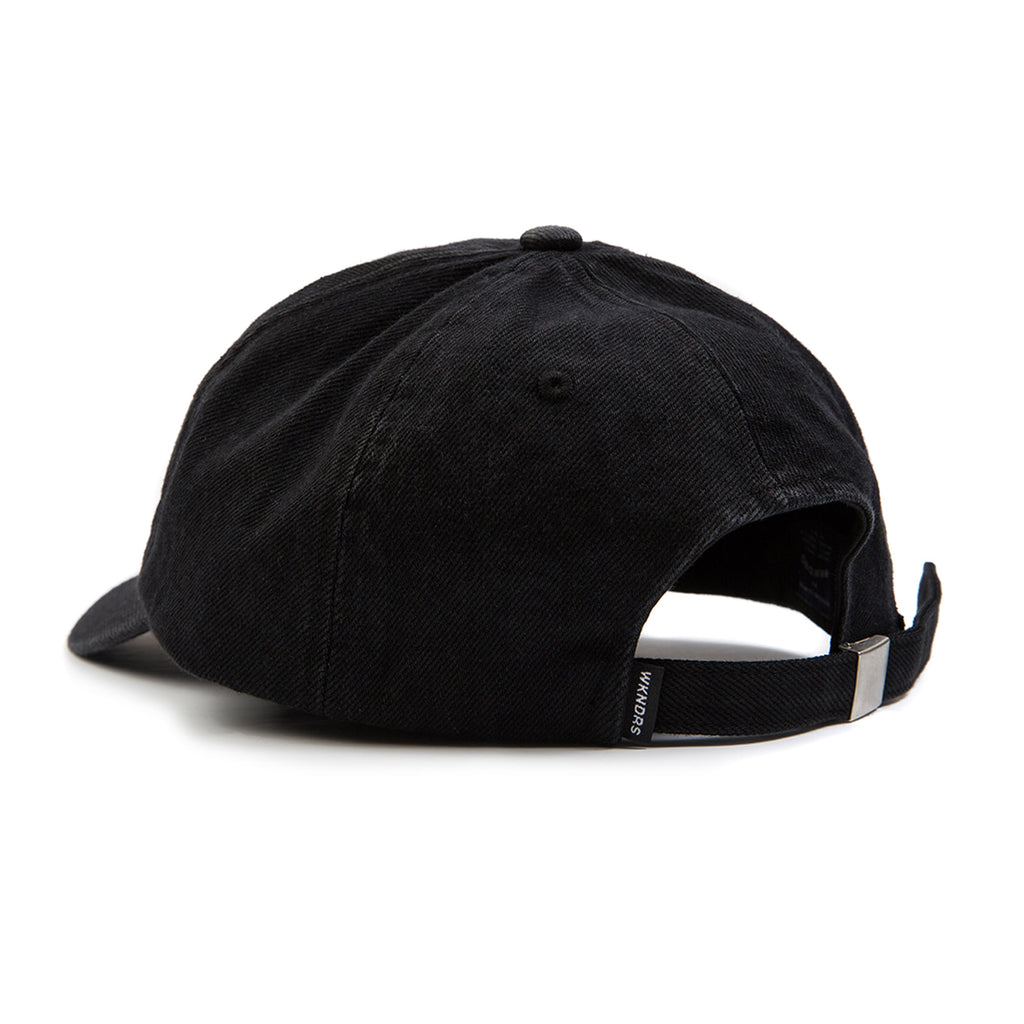 WASHED DENIM CAP (DARK DENIM)