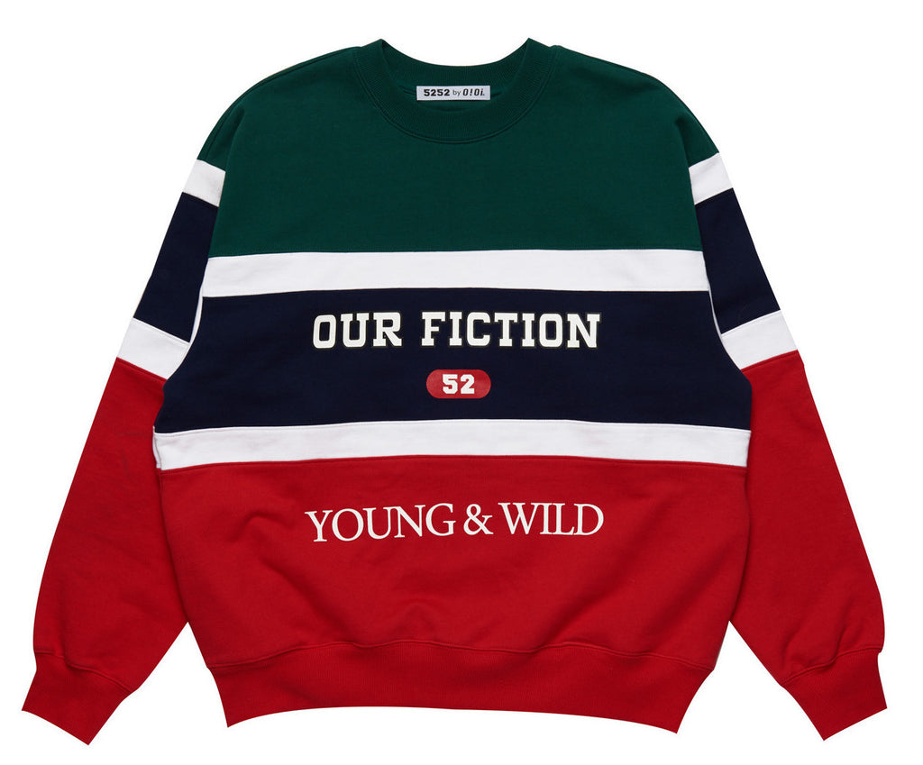 YOUNG & WILD JUMPER GREEN