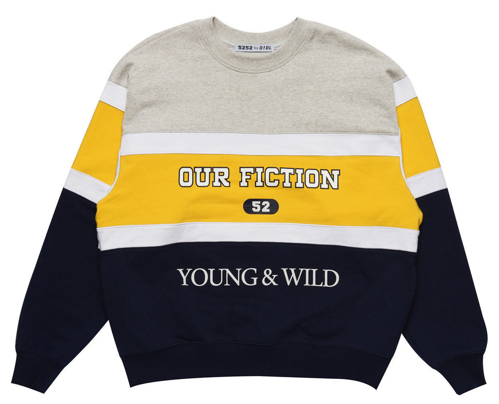 YOUNG & WILD JUMPER GREY