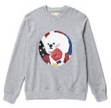 NEW CHAMP DOG PATCH SWEAT SHIRT