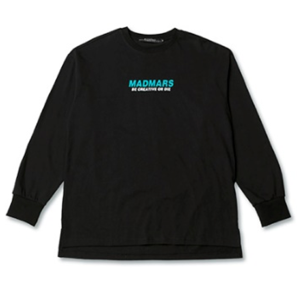 LOGO LONG SLEEVE SHIRTS BLACK