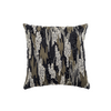 "Shimmer camouflauge/ Pewter: Hand Embroidered faux silk cushion cover (12"" x 12"")"