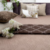 Taupe cotton designer Bed cover/Onset Design