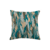 Blue Embroidered Polyster Designer Cushion Cover | Onset Designs