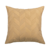 Gold Embroidered  Silk  Designer Cushion Cover | Onset Designs