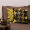 THE CUSHION PROJECT Set of 2 Green Cushion Covers